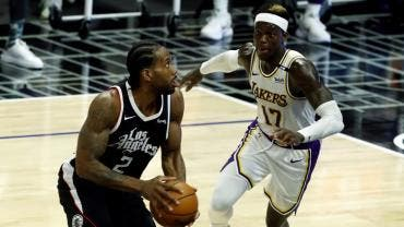 Clippers despedaza a unos Lakers sin LeBron James y Anthony Davis